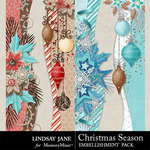 Christmas Season Border Pack-$1.99 (Lindsay Jane)