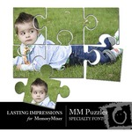 MM Specialty Font Puzzles-$4.00 (Lasting Impressions)
