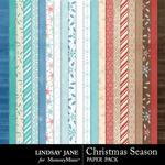 Christmas Season Paper Pack-$1.99 (Lindsay Jane)