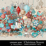 Christmas Season Embellishment Pack-$3.49 (Lindsay Jane)