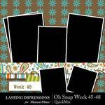 Oh Snap Week 45-48 QuickMix-$1.99 (Lasting Impressions)
