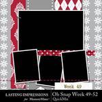 Oh Snap Week 49-52 QuickMix-$1.99 (Lasting Impressions)