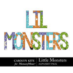 Little Monsters CK Alphabet Pack 2-$3.99 (Carolyn Kite)