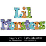 Little Monsters CK Alphabet Pack 1-$3.99 (Carolyn Kite)