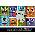 Little Monsters CK Pocket Cards Pack-$2.99 (Carolyn Kite)