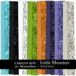 Little Monsters CK Paper Pack 3-$3.99 (Carolyn Kite)