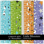 Little Monsters CK Paper Pack 2-$3.99 (Carolyn Kite)