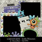 Little Monsters CK QuickMix-$5.99 (Carolyn Kite)