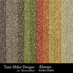 Always TM Glitter Sheets Pack-$3.99 (Tami Miller)
