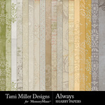 Always TM Shabby Paper Pack-$3.99 (Tami Miller)