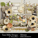 Always TM Embellishment Pack-$2.40 (Tami Miller)