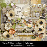 Always TM Combo Pack-$4.80 (Tami Miller)