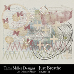 Just Breathe Graffiti Pack-$2.99 (Tami Miller)