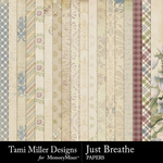 Just Breathe Paper Pack-$3.99 (Tami Miller)