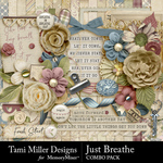 Just Breathe Combo Pack-$7.99 (Tami Miller)