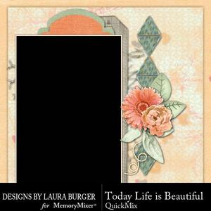 Today life is beautiful qm p001 medium