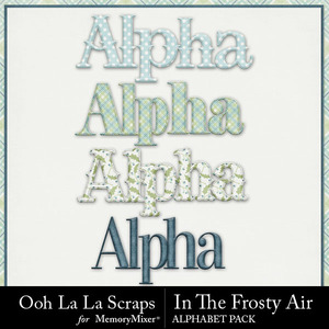 Frosty air alphabets medium