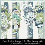 In The Frosty Air Page Borders Pack-$1.99 (Ooh La La Scraps)