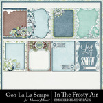 In The Frosty Air Pocket Cards Pack-$1.99 (Ooh La La Scraps)