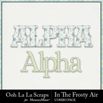 Frosty air kit alphabets small