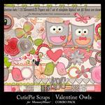 Valentine Owls Combo Pack-$4.99 (CutiePie Scraps)