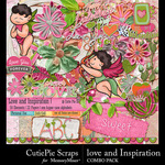 Love and Inspiration Combo Pack-$4.99 (CutiePie Scraps)