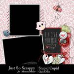 Stupid Cupid QuickMix-$3.99 (Just So Scrappy)