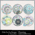 Freezing Cluster Seals Pack-$1.99 (Ooh La La Scraps)