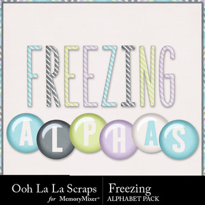 Freezing alphabets 1 medium