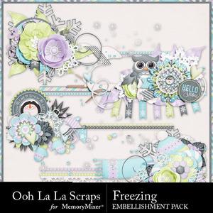 Freezing cluster stitches medium