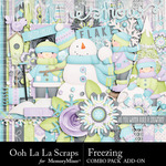 Freezing Add On Combo Pack-$3.49 (Ooh La La Scraps)