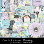 Freezing Combo Pack-$4.99 (Ooh La La Scraps)