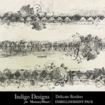 Delicate ID Borders Pack-$2.99 (Indigo Designs)