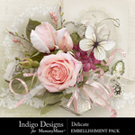 Delicate ID Embellishment Pack-$4.99 (Indigo Designs)
