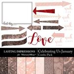 Celebrating Us February Combo Pack-$1.99 (Lasting Impressions)