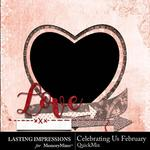 Celebrating Us February QuickMix-$1.99 (Lasting Impressions)