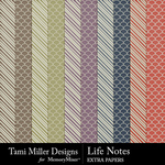 Life Notes Extra Paper Pack-$3.99 (Tami Miller)