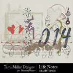 Life Notes Graffiti Pack-$2.99 (Tami Miller)