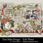 Life Notes Embellishment Pack-$3.99 (Tami Miller)