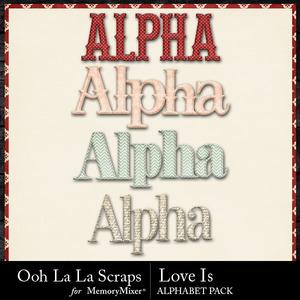 Love is alphabets medium