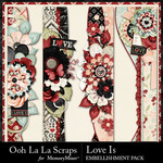 Love Is OLL Page Borders Pack-$1.99 (Ooh La La Scraps)