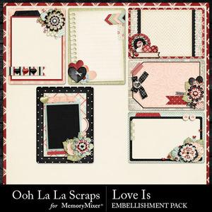 Love is pocket cards medium