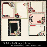 Love Is OLL Pocket Cards Pack-$1.99 (Ooh La La Scraps)