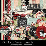 Love Is OLL Combo Pack-$4.99 (Ooh La La Scraps)