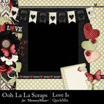 Love Is OLL QuickMix-$3.99 (Ooh La La Scraps)
