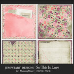 So This is Love JSD Vintage Paper Pack-$2.99 (Jumpstart Designs)