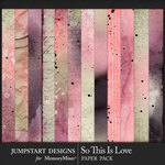 So This is Love JSD Blended Paper Pack-$3.99 (Jumpstart Designs)