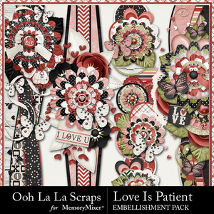 Love is patient page borders medium