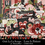 Love Is Patient Combo Pack-$4.99 (Ooh La La Scraps)