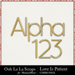 Love is patient kit alpha small